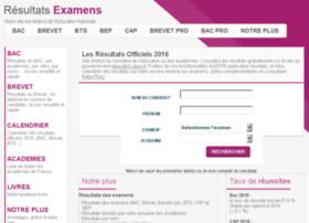 resultats-des-examens.org