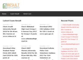 resultdeclared.co.in