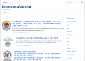 results.indiaaxis.com