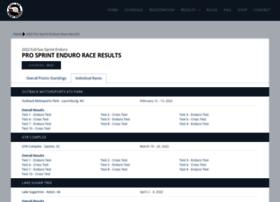 results.sprintenduro.com