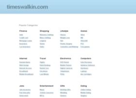 results.timeswalkin.com