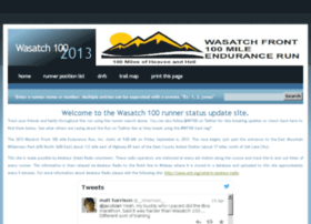 results2013.wasatch100.com