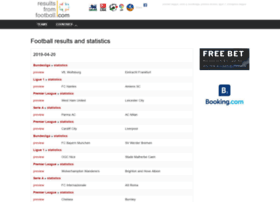 resultsfromfootball.com