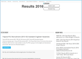resultsnicin2015.in