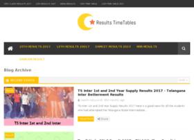 resultstimetables.com