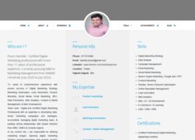 resume.pravinkamble.com