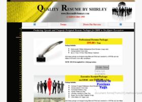 resumebyshirley.com
