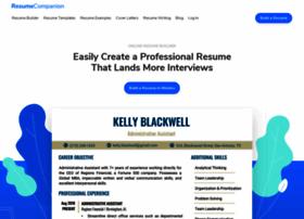 resumecompanion.com
