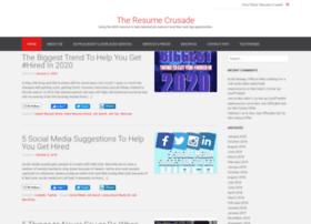 resumecrusade.com