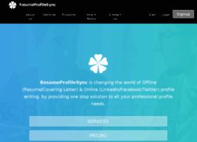 resumeprofilesync.com