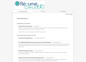 resumesmith.acuityscheduling.com
