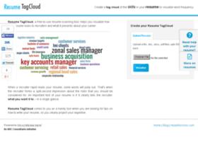 resumetagcloud.com