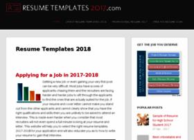 resumetemplates2017.com