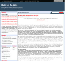 retired-to-win.savingadvice.com