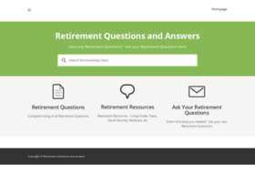 retirementquestions.com