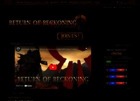 returnofreckoning.com