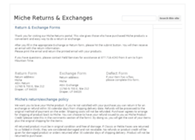 returns.miche.com