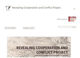 revealingcooperationandconflict.com
