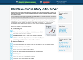 reverse-auctions.thephpfactory.com