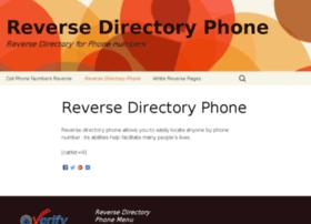 reverse-directory-phone.com