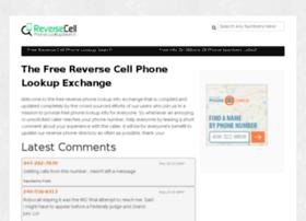 reversecellphonelookupsearch.com