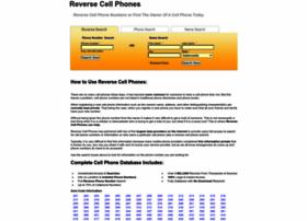 reversecellphones.com