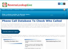 reverselookuplive.com