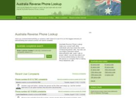 reversephonetracer.com.au