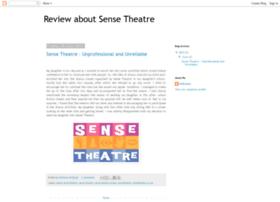 review-about-sense-theatre.blogspot.com