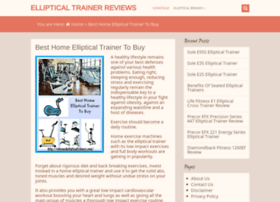 Reviewedellipticaltrainers.com