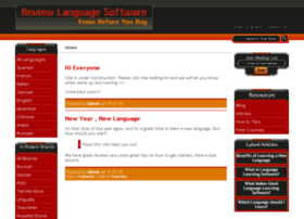 reviewlanguagesoftware.com