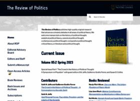 reviewofpolitics.nd.edu