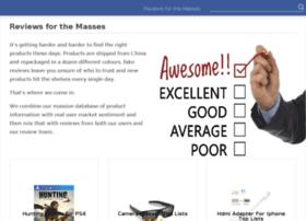 reviewsforthemasses.com
