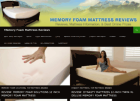reviewsofmemoryfoammattress.com