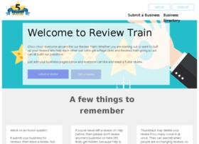 Reviewtrain.bubbleapps.io