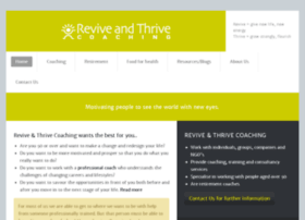 reviveandthrivecoaching.com