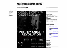 revolutionandorpoetry.wordpress.com