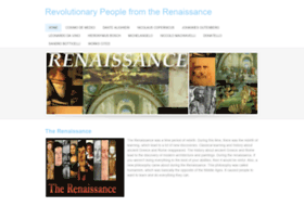 revolutionarypeoplefromtherenaissance.weebly.com