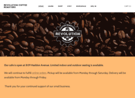 revolutioncoffeeroasters.com