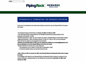 rewards.pipingrock.com