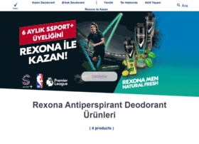 rexona.com.tr