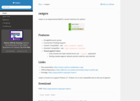 rexpro-python.readthedocs.org