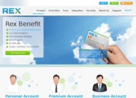 rexvirtualcard.com
