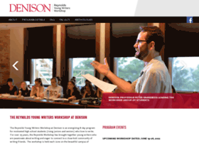 reynolds.denison.edu