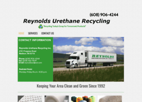 reynoldsurethanerecycling.com