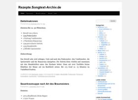 rezepte.songtext-archiv.de