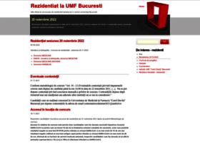 rezidentiat.umf.ro