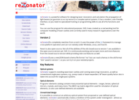 rezonator.orion-project.org
