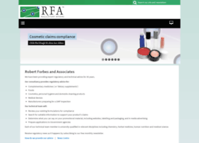 rfaregulatoryaffairs.com