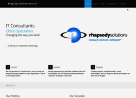 rhapsody.com.au